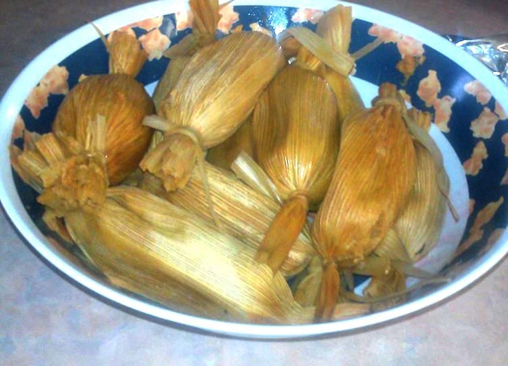 Receta de tamales estilo Sinaloa