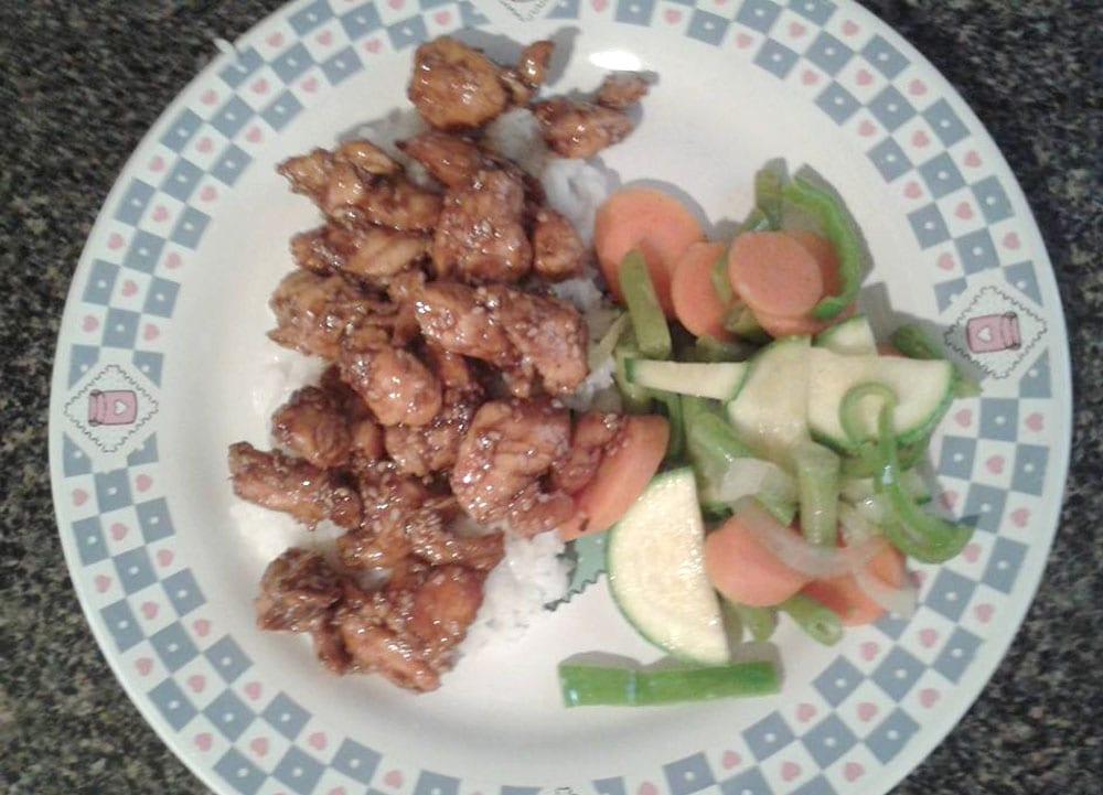 Receta de pollo con ajonjoli