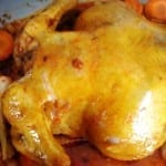 pollo relleno de chorizo