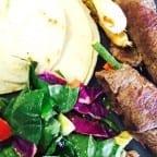 rollos de carne asada