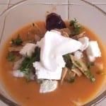 sopa de frijol