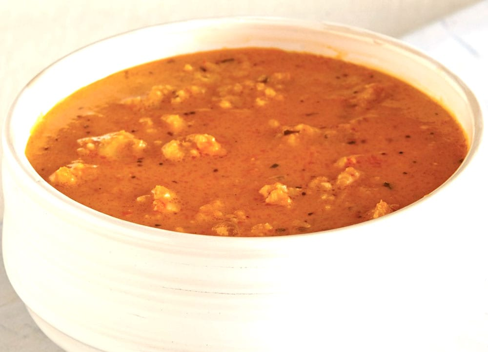 Receta de sopa de ostiones