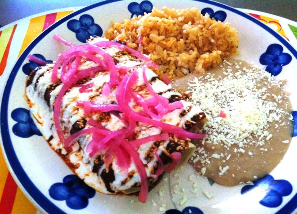 Enchiladas rojas - Recetas Mexicanas - Comida Mexicana
