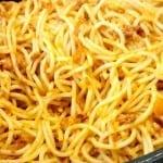 espagueti con chorizo
