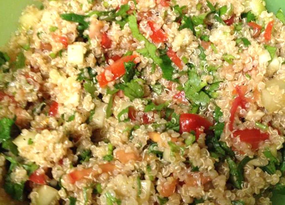 Receta de ceviche de quinoa