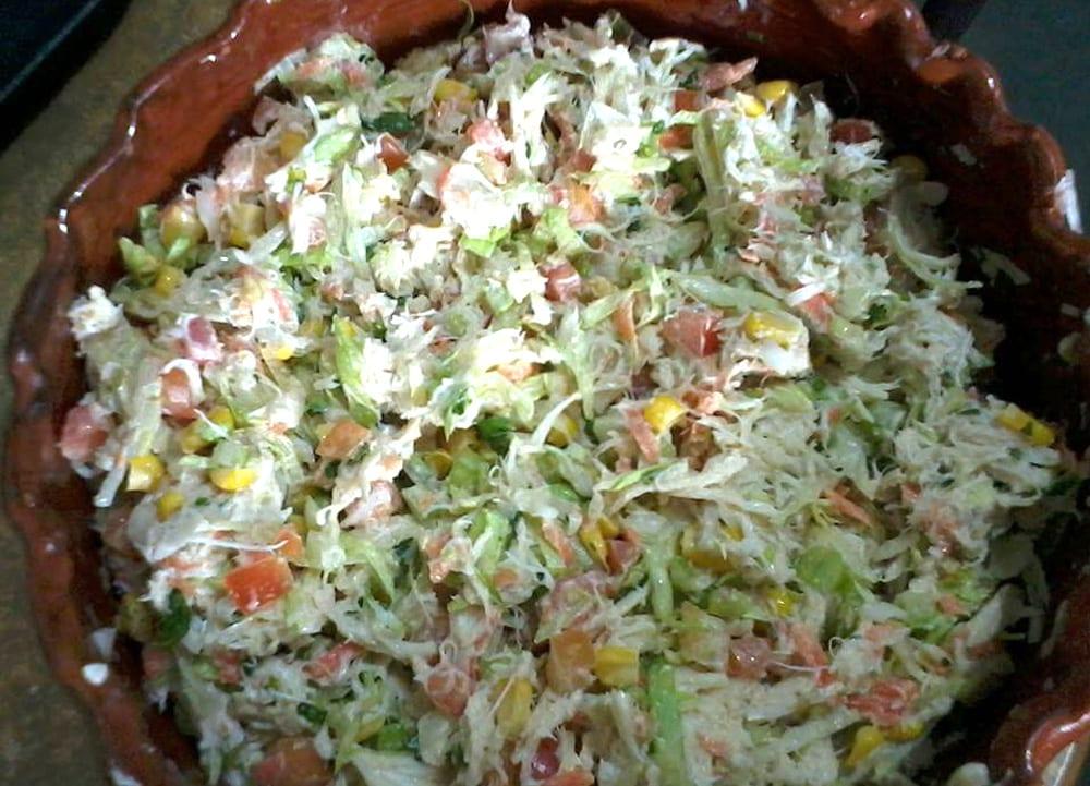 ensalada de jaiba
