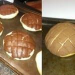 Conchas de chocolate