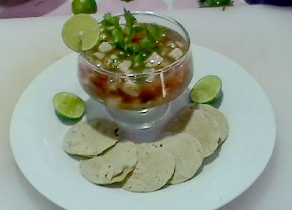 Ceviche de pescado estilo Acapulco