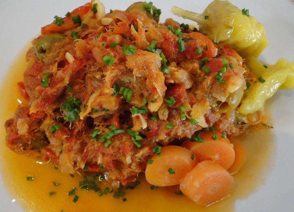 Bacalao a la mexicana recetas mexicanas - Cocinar bacalao desalado ...
