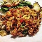 receta de cangrejo frito