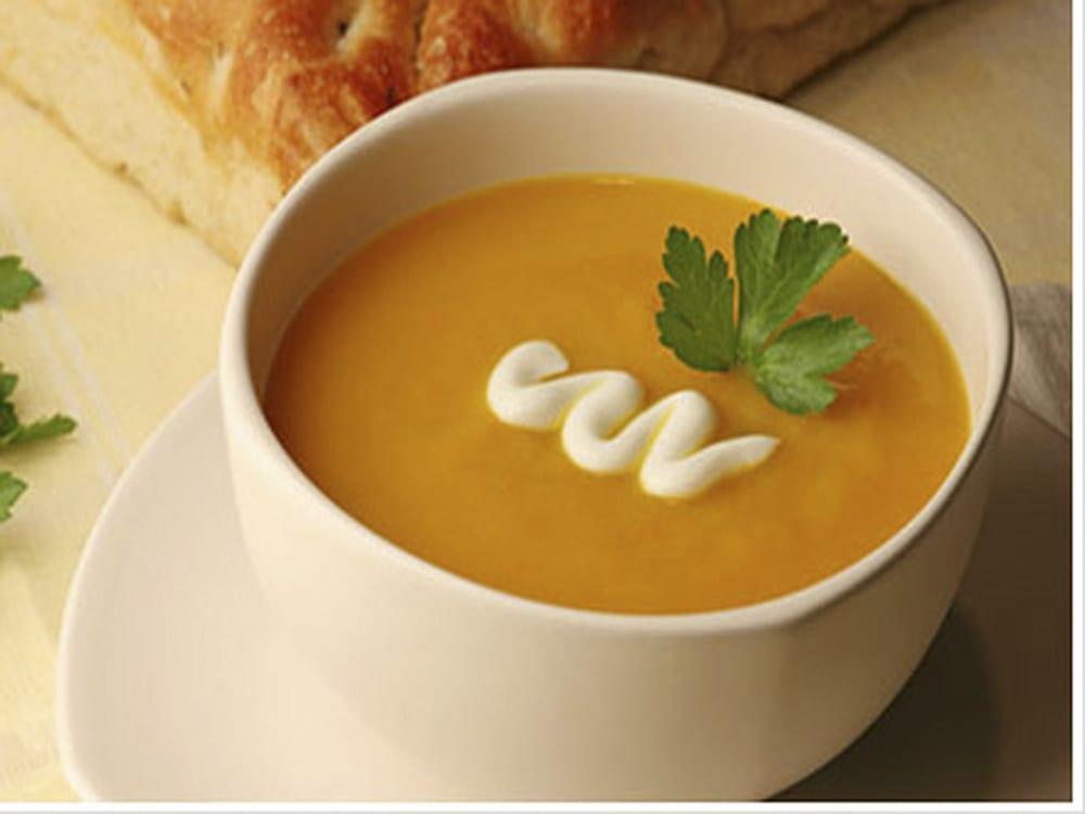 receta de crema de papa y zanahoria