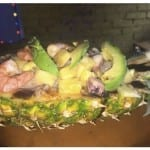 receta de mariscada tropical