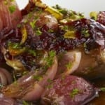 receta de carne a la cebolla