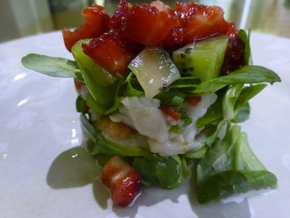 ceviche frutal