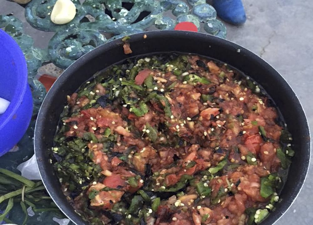 salsa asada