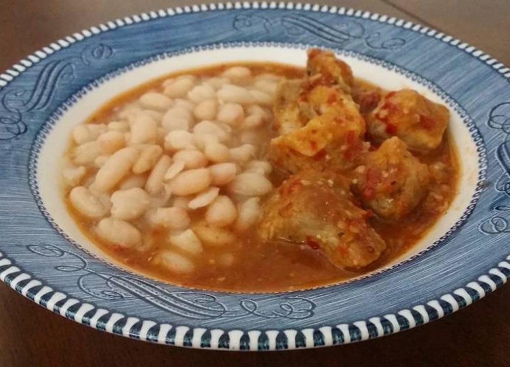 Receta de carne de puerco en salsa