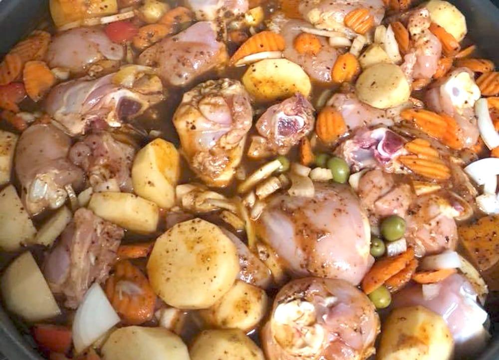 Receta de pollo estilo barbacoa