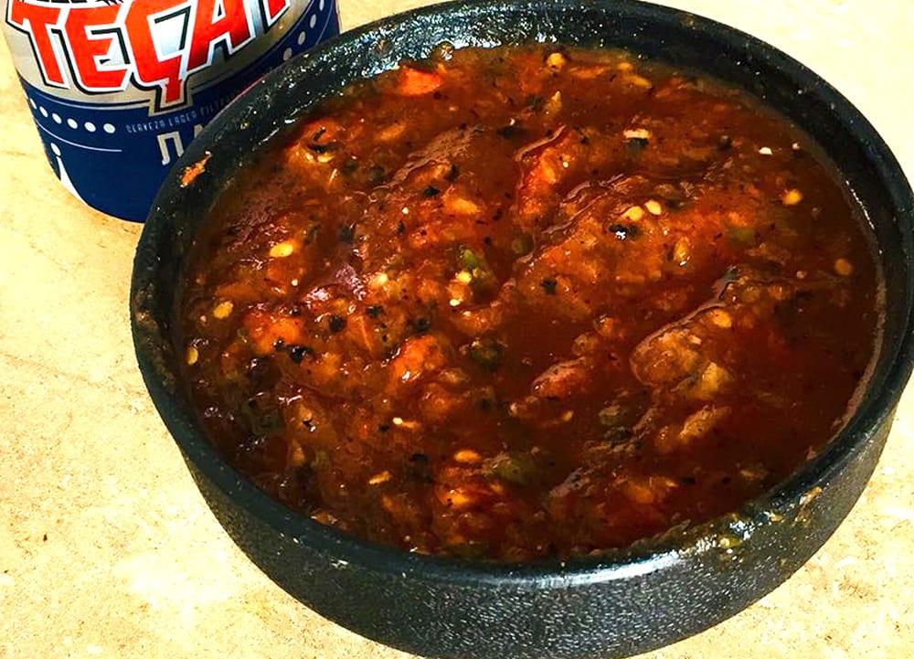 Receta de salsa borracha