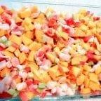 ceviche de pescado al mango