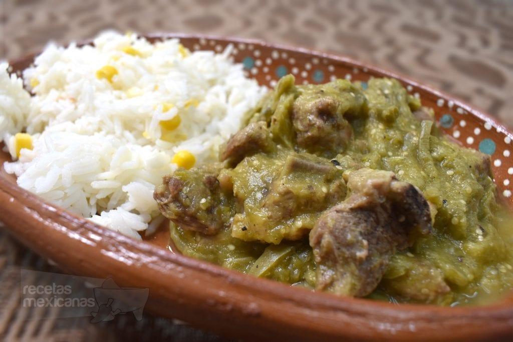 Costillas En Salsa Verde Con Nopales Recetas Mexicanas