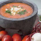 salsa de tomate con chile de arbol